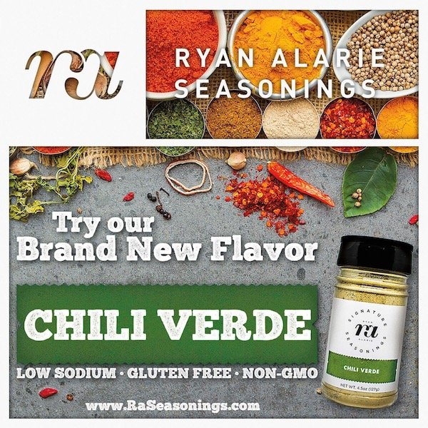 RA Seasonings Chili Verde