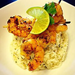 Picture of Grilled Thai Curry Shrimp