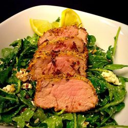 Picture of Parmesan Encrusted Pork Tenderloin