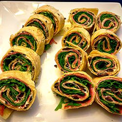 Picture of Salami Pinwheels