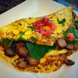 Picture of Turkey Sausage Omelette