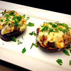 Picture of Vegetarian Eggplant Pizzas